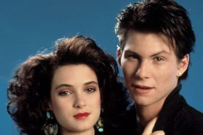 "<b>Back in the 80s... </b>Christian starred as the rebellious J.D. alongside Winona Ryder in <i>Heathers</i>, a box-office flop that went on to become a cult classic, ranking as #5 on <i>Entertainment Weekly</i>'s list of the 50 Best High School Movies.<br/><br/>MusicFIX: <a href=""http://music.ninemsn.com.au/slideshowajax/207137/80s-fashion-amazing-tragic-pop-style.slideshow"">Amazing/tragic 80s fashion!</a>"