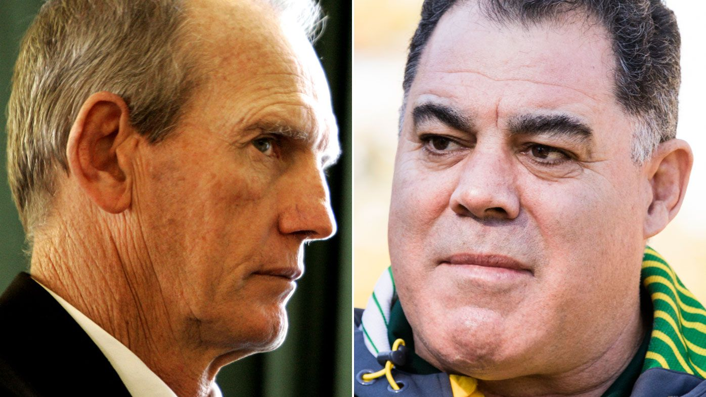 Wayne Bennett, Mal Meninga's uneasy truce for contentious Queensland Origin pairing