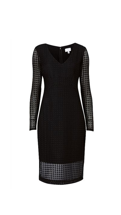 """<a href=""""http://www.witchery.com.au/shop/woman/clothing/dresses/60182289/Cut-Out-Lace-Dress.html"""" target=""""_blank"""">Dress, $179.95, Witchery</a>"""