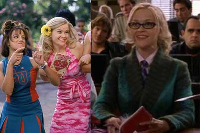 Reece Witherspoon gets an academic makeover and proves that blondes can have more fun at law school.