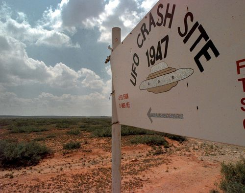 The observatory is about 140kn south-west of Roswell, the site of a fabled alien landing in 1947.