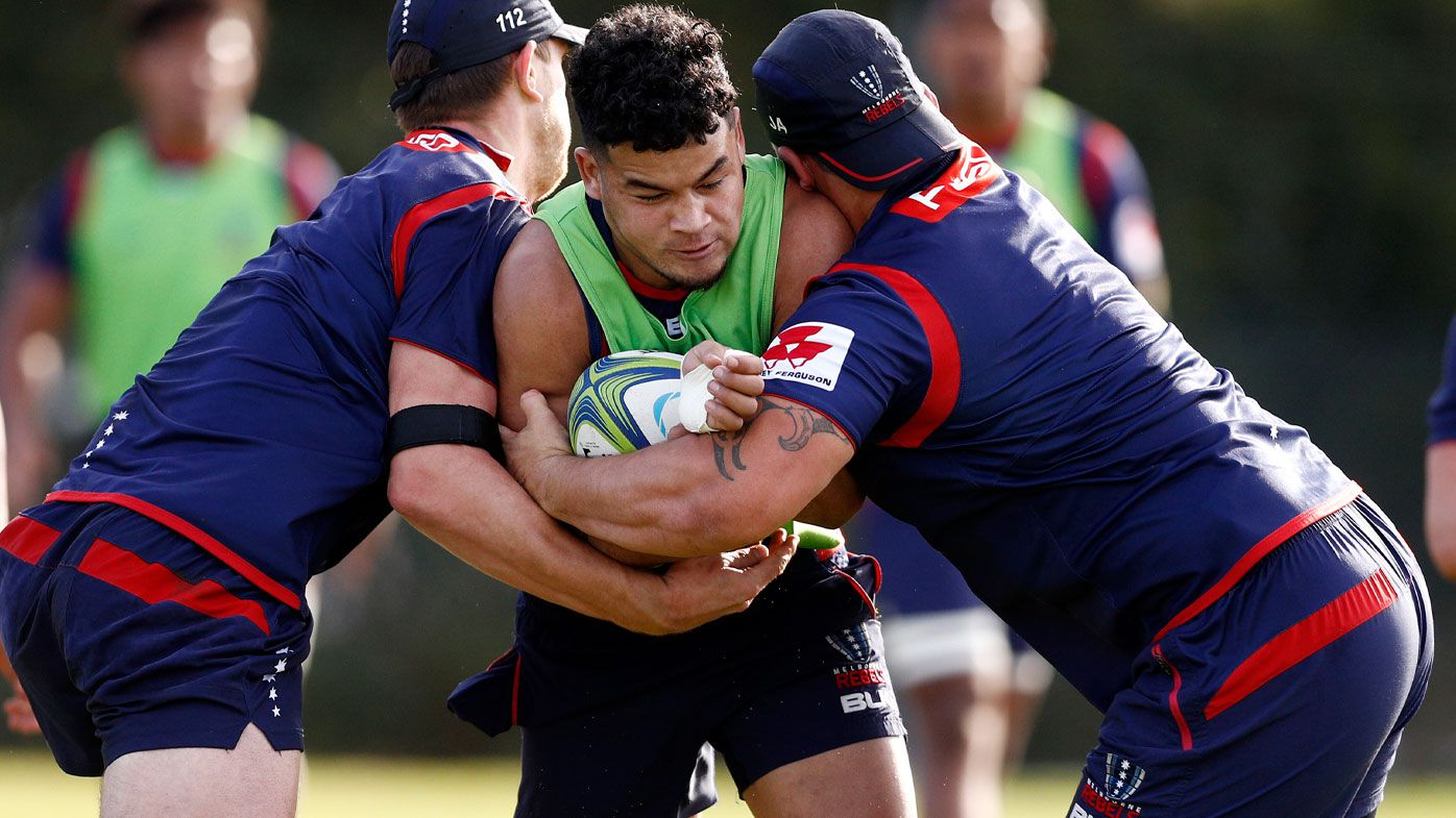 Rugby: Melbourne Rebels duo Pone Fa'amausili and Hunter Paisami embroiled in off-field strife