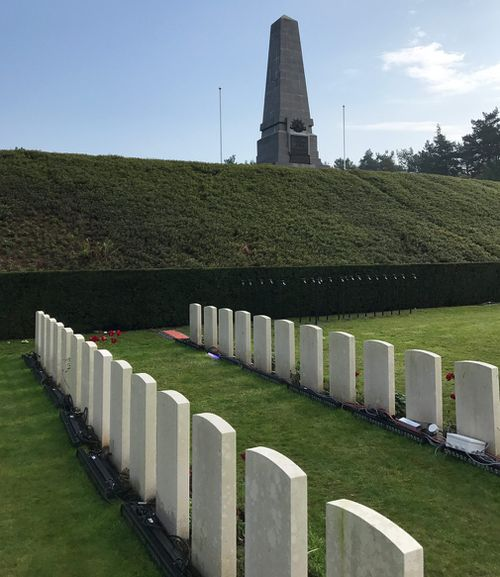 More than two thousand men are buried in Polygon Wood. (Michael Best/9NEWS)
