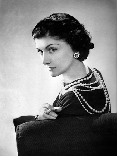 <p><strong><em>Coco Chanel, 1883 -1971</em></strong></p> <p>Designer, Founder of the house of Chanel</p> <p> </p>