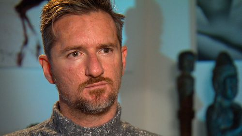 Father of two Matthew Strain insists he's not a criminal.