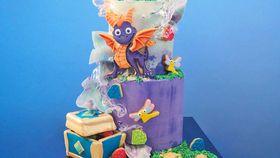 Spyro birthday cake
