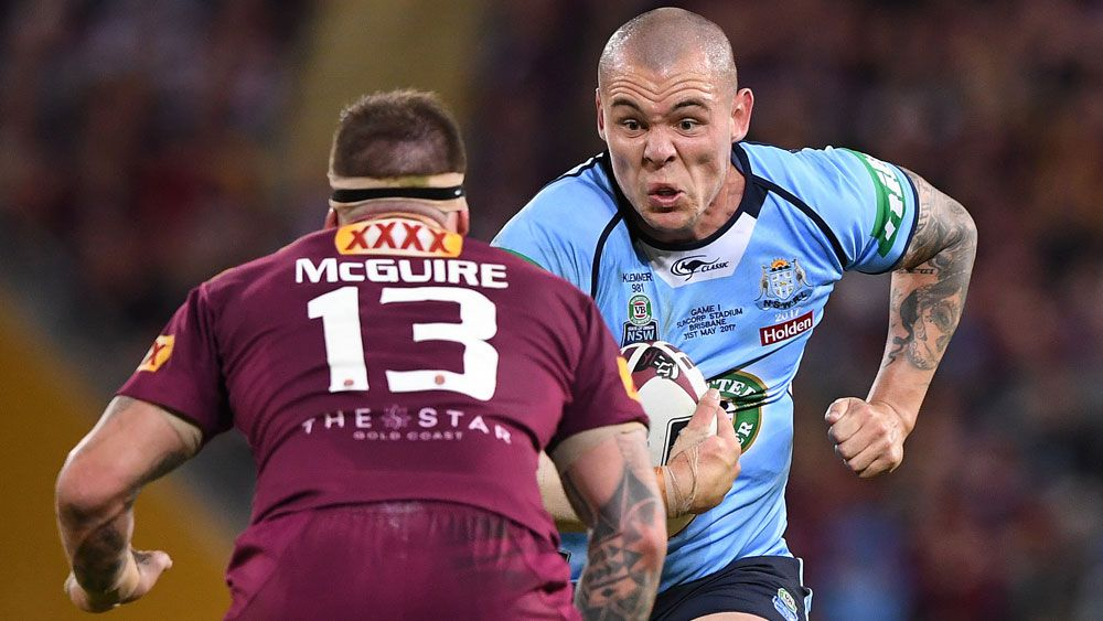 David Klemmer takes out Brad Fittler medal for Blues' best player in State of Origin series