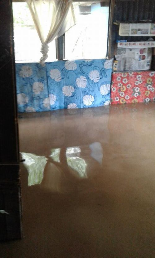 It is believed a number of homes have been flooded. (Facebook)