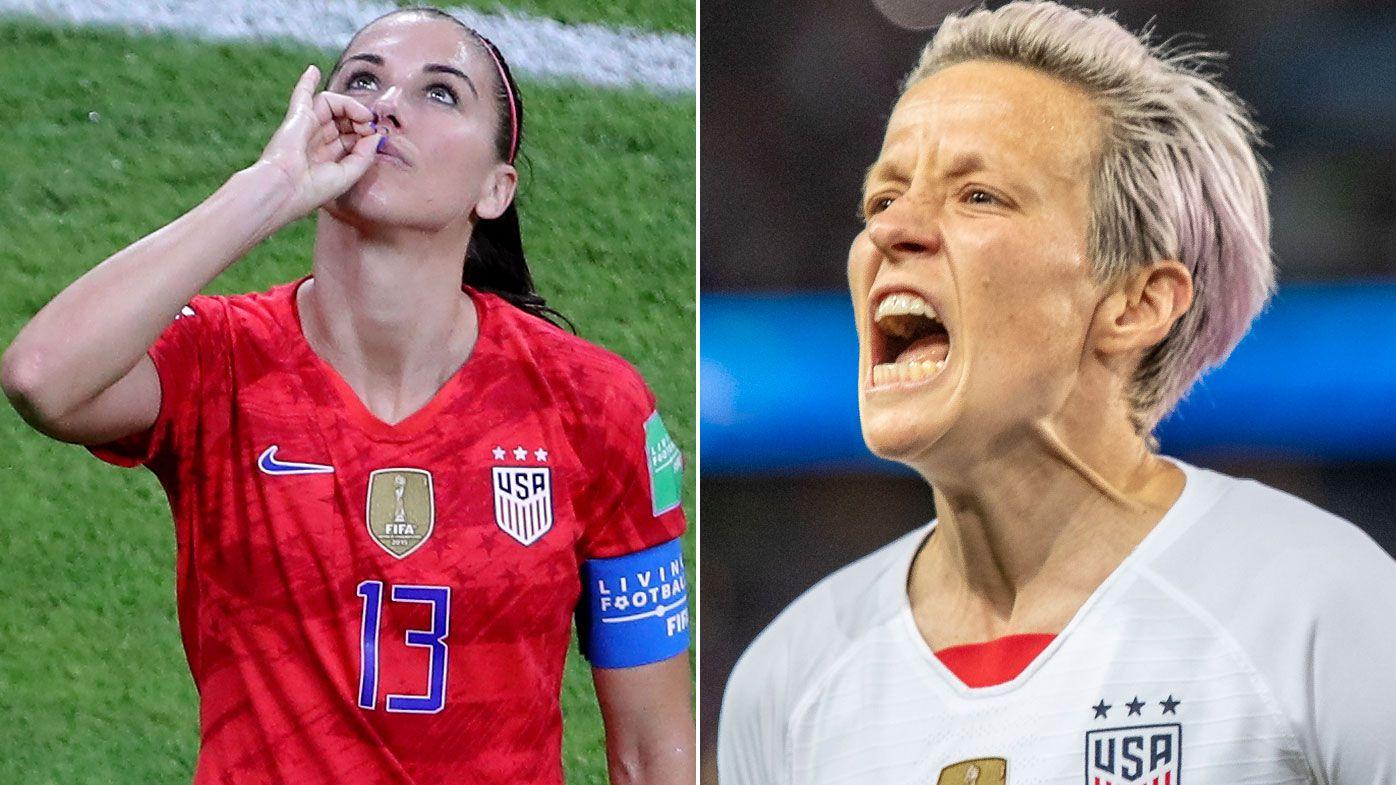 Alex Morgan, Megan Rapinoe respond to USWNT critics after making World Cup final