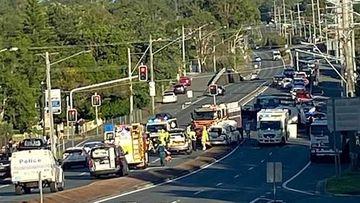Pedestrians dead after 'stolen' car crash