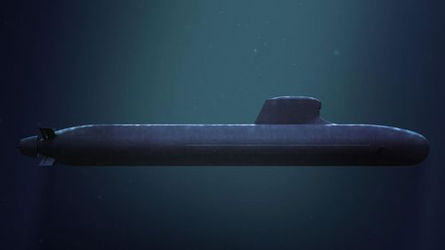 A supplied image of French submarine, Shortfin Barracuda, designed by the DCNS group. Bidders from France, Germany and Japan are up for the massive contract to build Australia's new submarines. (AAP)