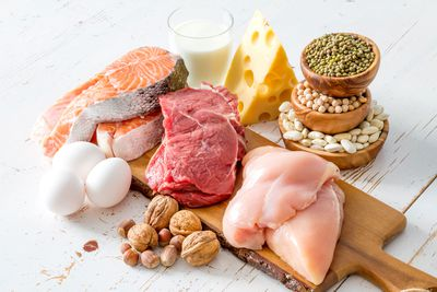 MYTH: You need to eat a lot of protein for good health