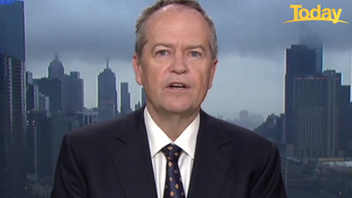 Bill Shorten said the focus should be on Sydney's outbreak.