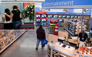 Walmart pulls violent game displays after shootings – but will still sell guns