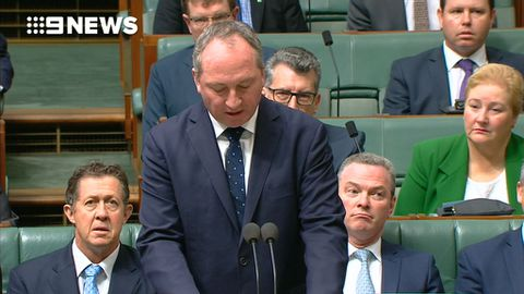 Barnaby Joyce caught up in citizenship bungle