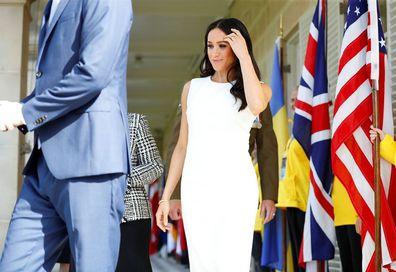 White Aussie dress