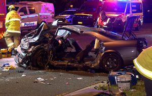 Woman in her 20s critical after crash in Sydney's west