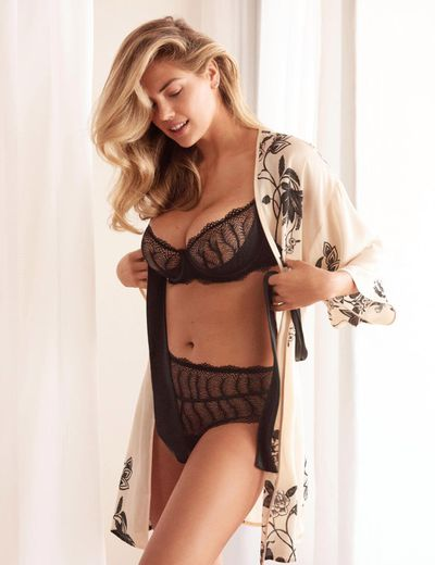 Kate Upton in lingerie brand Yamamay's spring 2018 collection