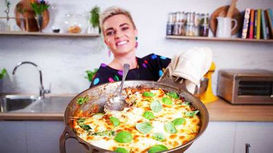 Jane de Graaff's lazy lentil lasagna for Quarantine Kitchen