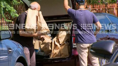 More than 280 NSW Police officers raided 31 properties across 10 suburbs in the Hunter region this morning. (9NEWS)