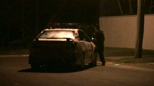 Shots were fired near two Gold Coast homes last night. (9NEWS)
