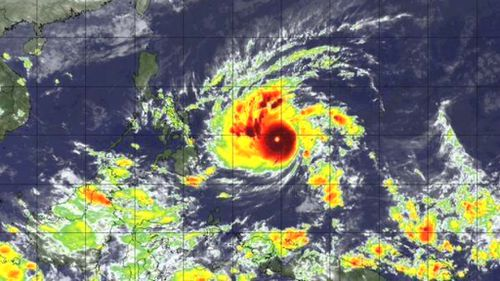Second super typhoon in a year expected to devastate Philippines city
