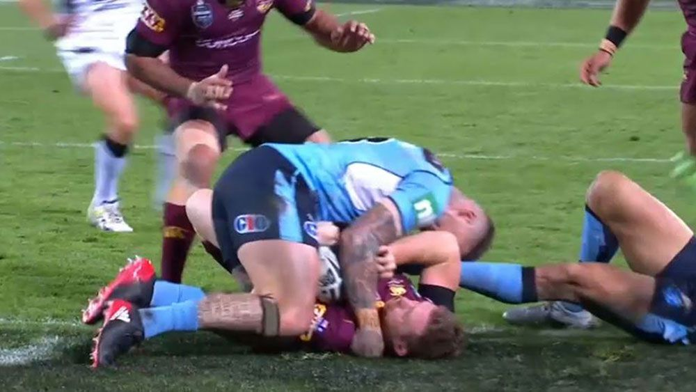 State of Origin: Last ditch defence saves Blues