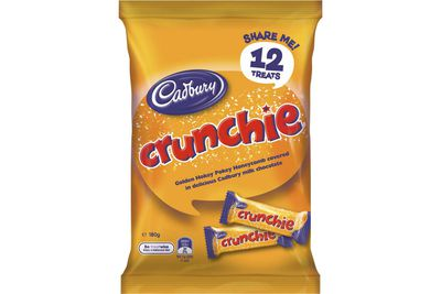 Fun-size Crunchie: Almost 2.5 teaspoons of sugar