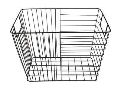 Rectangular storage wire basket