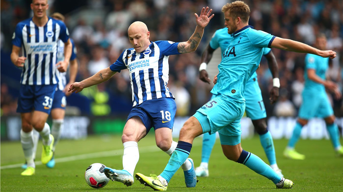 Aaron Mooy, Mat Ryan help Brighton pile pressure on struggling Spurs in EPL