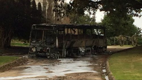 Suspected arson attack near birthplace of the Ashes