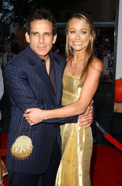 Ben Stiller and Christine Taylor (Photo by SGranitz/WireImage)