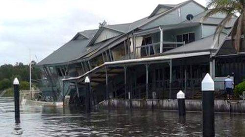Collapsed NSW marina to be demolished