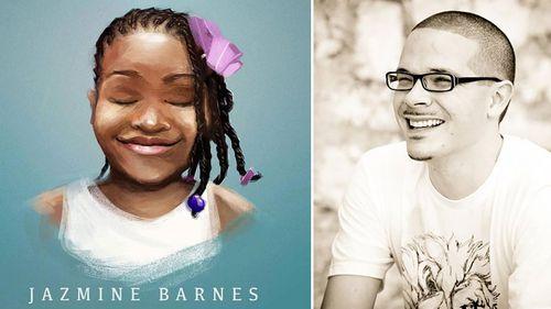 Tribute to Jazmine Barnes and activist Shaun King. Artist credit: @nikkolas_smith.