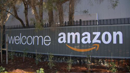 The 43,000 square metre facility in Moorebank, is double the size of Amazon's only other distribution centre in Melbourne.