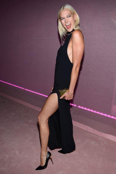 Karlie Kloss at the 'F**cking Fabulous' party at New York Fashion Week, September 2017