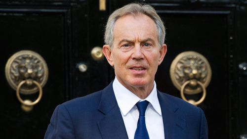 Former British PM Tony Blair. (AAP)