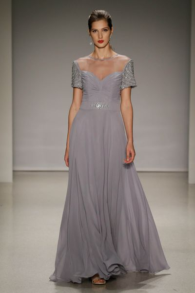 <p>Grey clouds</p> <p>Alfred Angelo, Spring 2017, New York Bridal Fashion Week with Disney Weddings</p>