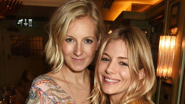 Designer Savannah Miller with sister Sienna. Image: Getty