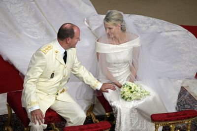 Prince Albert II of Monaco and Charlene Wittstock, July 2 2011