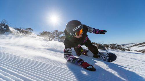 Perisher is officially extending its ski season until October 8. (Supplied)