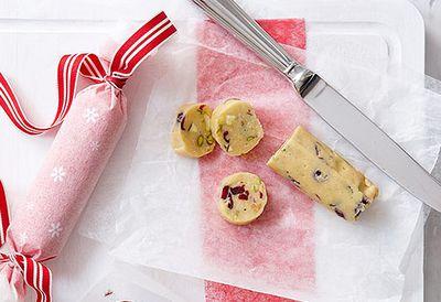 White Christmas salami