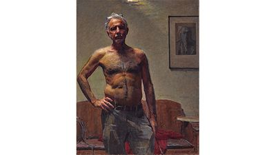 Robert Hannaford, Robert Hannaford, self-portrait.