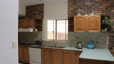 Norm and Jess' kitchen before
