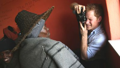 "Prince Harry has revealed a royal flair for photography during a visit to the impoverished African nation of Lesotho. Click through our gallery to see the prince's artistic shots as well as pictures of him meeting the locals.<br _tmplitem=""1""><br _tmplitem=""1"">""I have always enjoyed photography and the challenges that come with trying to capture the perfect shot, although privately I don't take many photos,"" Prince Harry said.<br _tmplitem=""1""><br _tmplitem=""1"">All pictures courtesy of AAP."