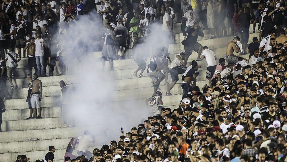 One dead in Brazil soccer-related violence between Vasco da Gama and Flamengo