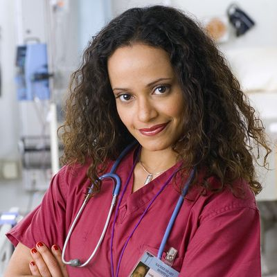 Judy Reyes as Nurse Carla Espinosa: Then