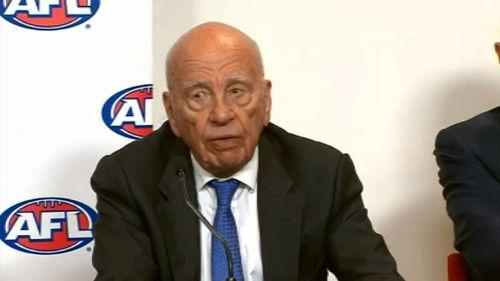 News Corp executive chairman Rupert Murdoch. (9NEWS)