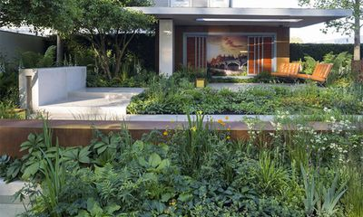 "Vestra Wealth's Garden of Mindful Living, designed by <a href=""http://www.paulmartindesigns.com/"" target=""_blank"">Paul Martin</a>"