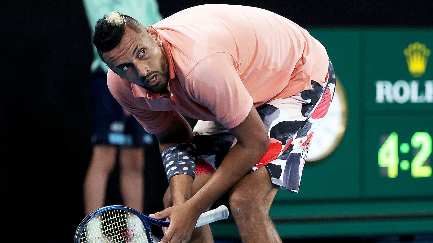 Nick Kyrgios pulls out of New York Open with shoulder injury